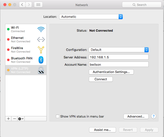 Synology VPN - Wildsong Wiki